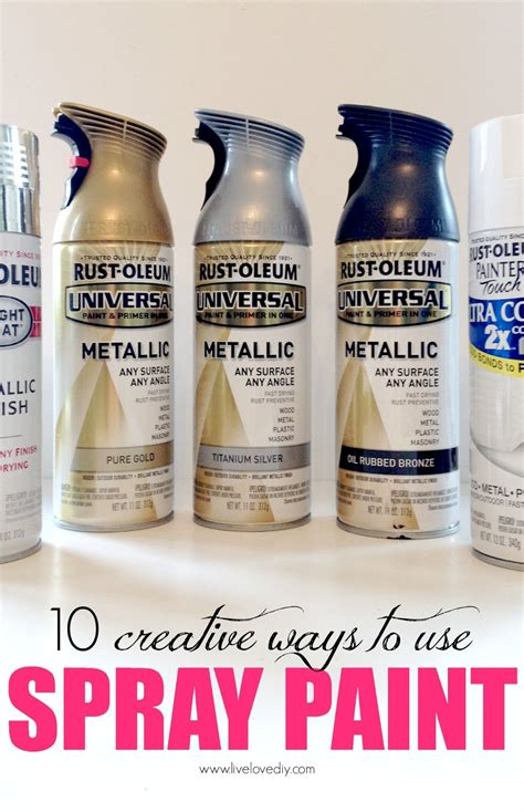 spray paint livelovediy 10 spray paint tips what you never knew
