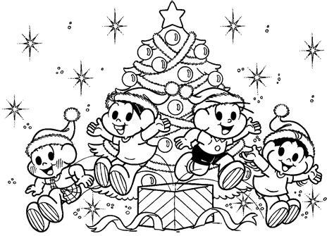 desenho para pintar de natal