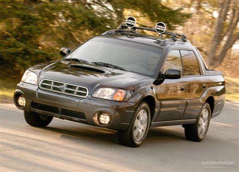 how to learn about cars 2006 subaru baja parental controls subaru baja specs 2003 2004 2005 2006 autoevolution