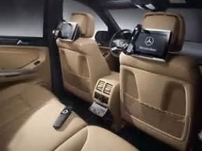Mercedes Rear Seat Entertainment System Mercedes Gl Ml Class Rear Seat Entertainment System