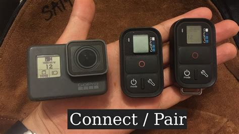 Gopro 5 Second gopro hero5 black fast pairing connecting with smart remote