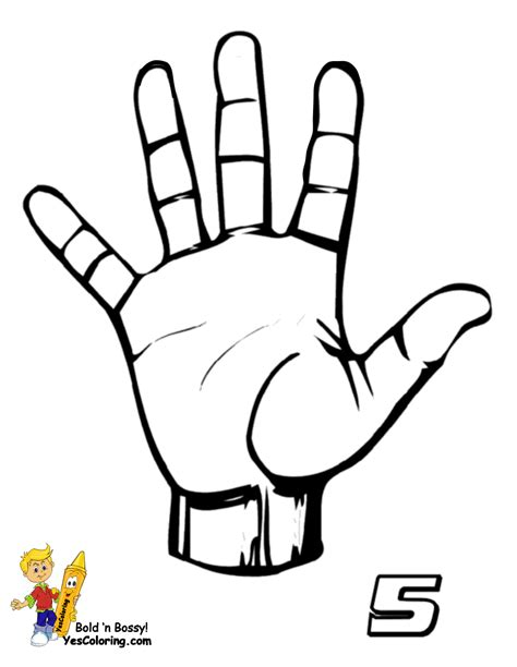 free coloring pages of asl numbers