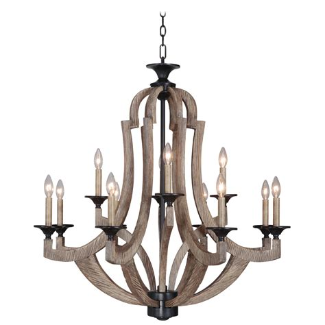 chandelier bronze jeremiah by craftmade winton weathered pine and bronze 12