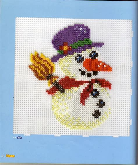 hama snowman 1000 images about melt on