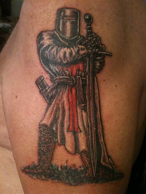 medieval knight tattoo designs templar by tattoos by steve g via flickr