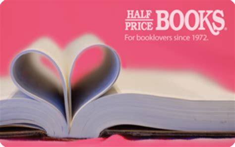 Half Price Books Gift Card Balance - gift cards half price books
