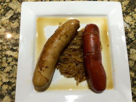 brats vs sausage bratwurst sauerkraut slow cooker