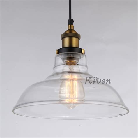 Ebay Pendant Lights Vintage Edison Glass Chandelier Pendant Light Ceiling Ls Kitchen Lighting Ebay