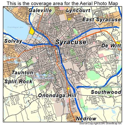 syracuse map aerial photography map of syracuse ny new york