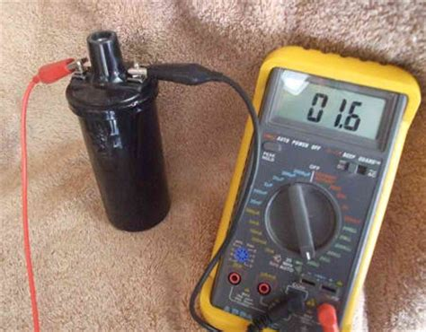 how to test a coil resistor image gallery ignition coil pack test