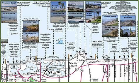 map world san diego san diego map