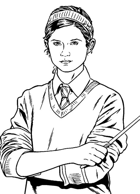 harry potter coloring pages ginny weasley coloring page harry potter coloring me