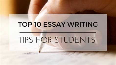 Essay Writing Tips Uk by 10 Essay Writing Tips