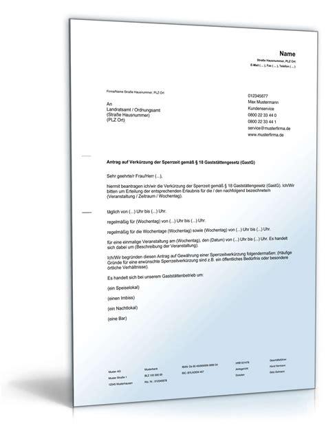 Antrag Verlustrücktrag Vorlage Antrag Auf Verk 252 Rzung Oder Aufhebung Der Sperrzeit Vorlage Zum
