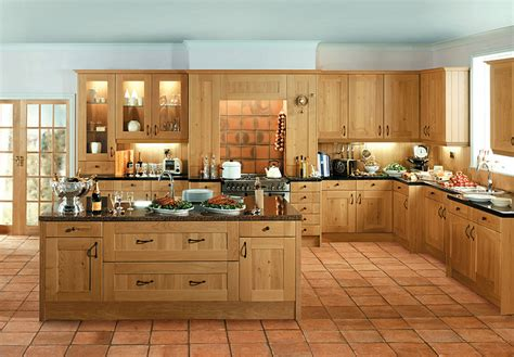oak kitchen design shaker winchester oak kitchen supply only traditional