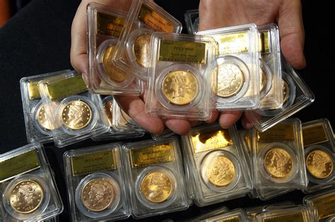gold coins found in california backyard buried gold coins found by california couple on display