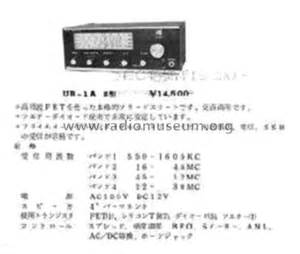 Yunika Set unica ur 1a ii receiver c unica yunika where build 1973