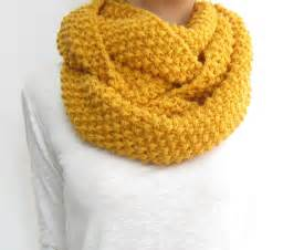 Gold Infinity Scarf Honey Gold Infinity Scarf Knit Loop From Sascarves On Etsy