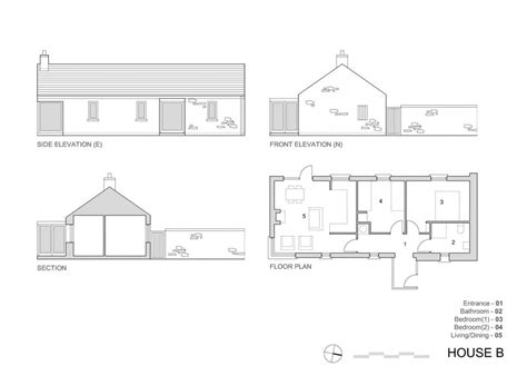 architecture photography house b plan 187247