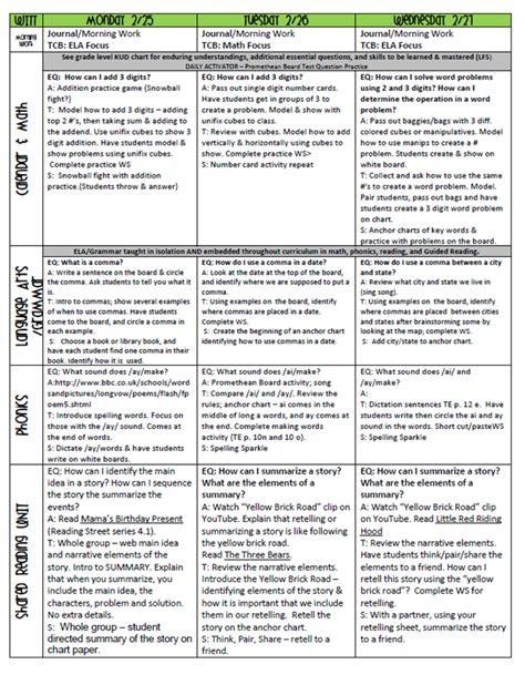 printable lesson plans for 1st graders lesson plan for 3rd grade third grade money worksheet k