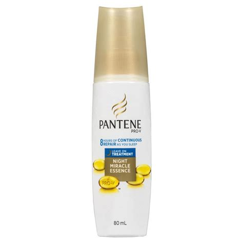 Harga Pantene Leave On Treatment pantene miracle leave in treatment 80ml chemist