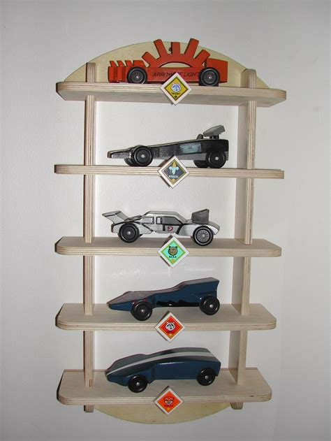 Car Display Shelf by Pinewood Derby Shelf Display Kit Cub Scout Boy Scout