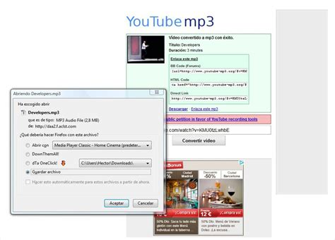 download youtube mp3 with thumbnail youtube mp3 online espa 241 ol gratis