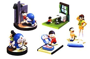 Jual Figure Doraemon jual doraemon diorama trading figure jual figure