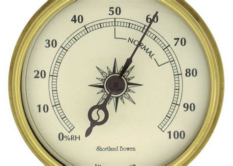 Analog Hygrometer White Large how to test and calibrate a hygrometer hotel and resort management household