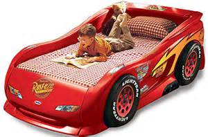 Buy Lightning Mcqueen Car Bed Features