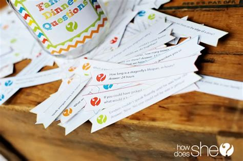 questions to ask at a dinner free printable family dinner questions chickabug