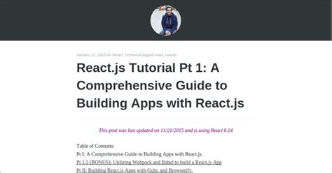 learn react js by building covering fundamental and advanced concepts of react js books learn reactjs with 20 free tutorials