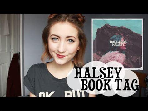 halsey books halsey book tag