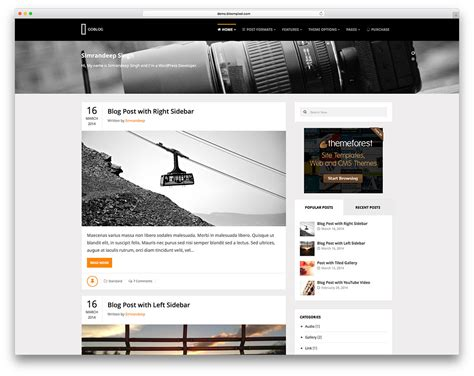 40 best personal blog wordpress themes 2018 colorlib