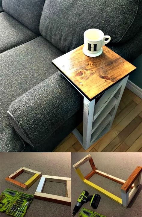 the arm sofa table 10 best diy sofa arm table ideas diy crafts