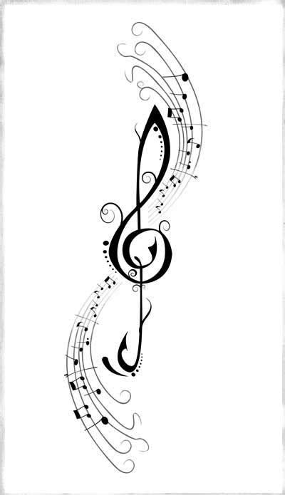 music clef tattoo treble clef cat treble clef search quotes