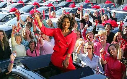 Oprah Winfrey Giveaway - oprah to give away chevrolet traverse crossovers in final season kick off