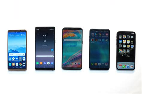 android smartphones the most anticipated android smartphones of 2018