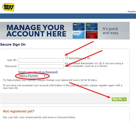 best buy credit card make payment www hrsaccount bestbuy best buy credit card payment
