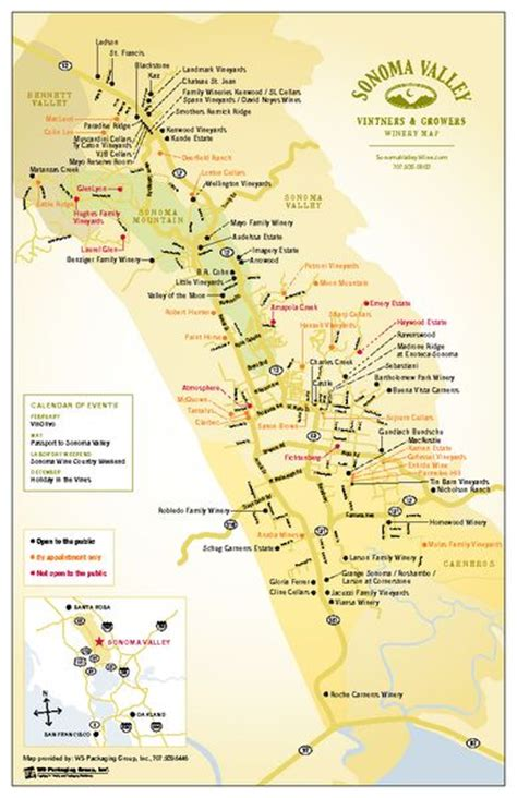 california map napa sonoma 612 best images about maps of wine regions on