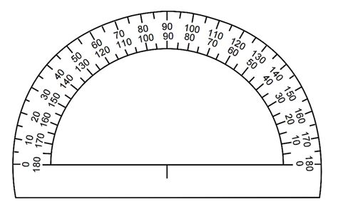 printable ruler for visually impaired printable protractor freepsychiclovereadings com