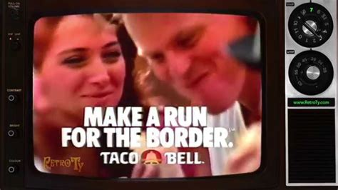 K Fed Running For The Border by Remember In The 90 S When Taco Bell S Slogan Was Quot Make A