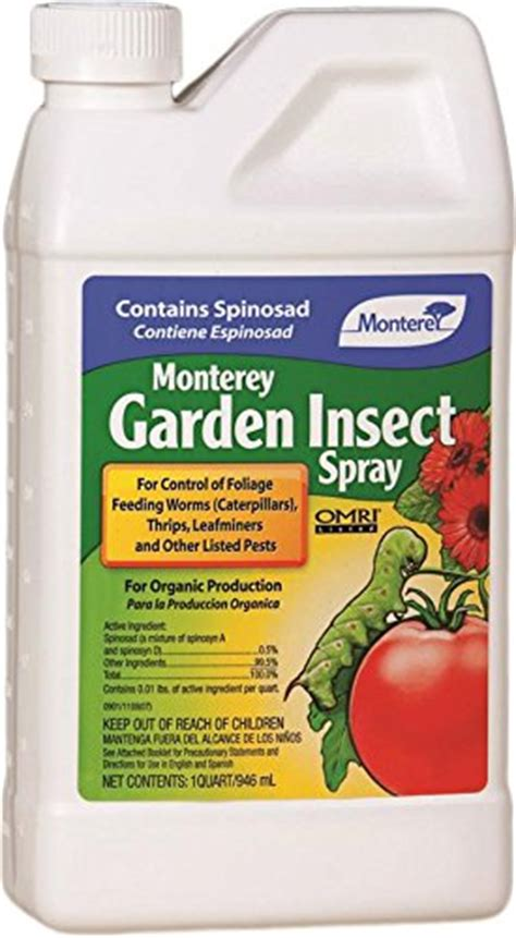 New Monterey Garden Insect Spray With Spinosad Concentrate Insecticide For Vegetable Garden