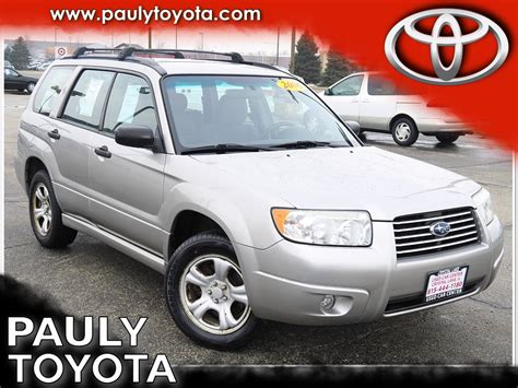 Is Subaru Owned By Toyota Pre Owned 2006 Subaru Forester 2 5x 4d Sport Utility In