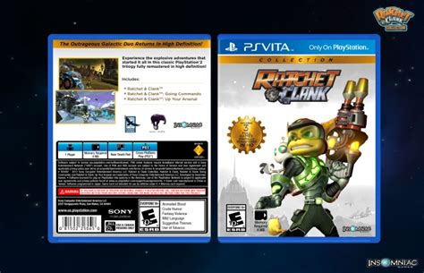 Virtual 3d Home Design Game by Ratchet Amp Clank Collection Playstation Vita Box Art Cover