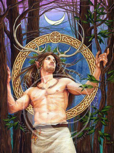 25 best celtic myths and 81 best herne cernunnos stag lord images on lord deities and fantasy art