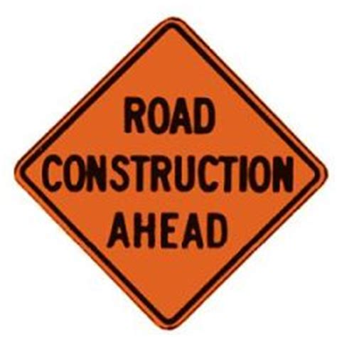 free printable road construction signs printable road signs clipart best