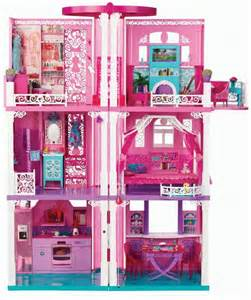 Barbie Dreamhouse by Barbie 3 Story Dream Townhouse Furniture Accessories Toy