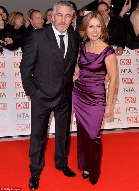 great british bake  star paul hollywoods wife accuses