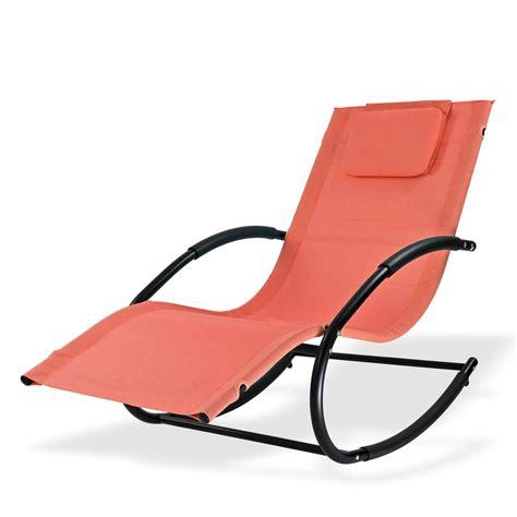 swing liege relaxliege sonnenliege swing terracotta